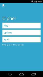 Cipher скриншот 1