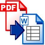 Программа для конвертации файлов формата PDF PDF2Word