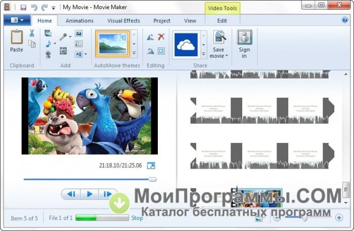 Программа муви мейкер скачать бесплатно для виндовс 7 на русском - 9d3