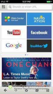 Maxthon для iPhone скриншот 1