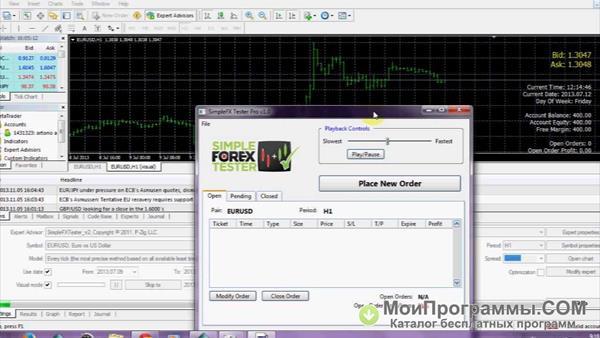 Скачать приложение simple forex tester статту форекс