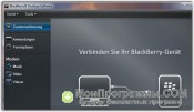 BlackBerry Desktop Manager скриншот 1