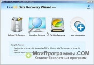 EASEUS Data Recovery Wizard скриншот 1