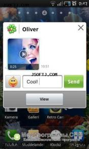 ICQ для Android скриншот 1