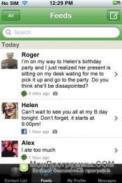 ICQ для iPhone скриншот 2