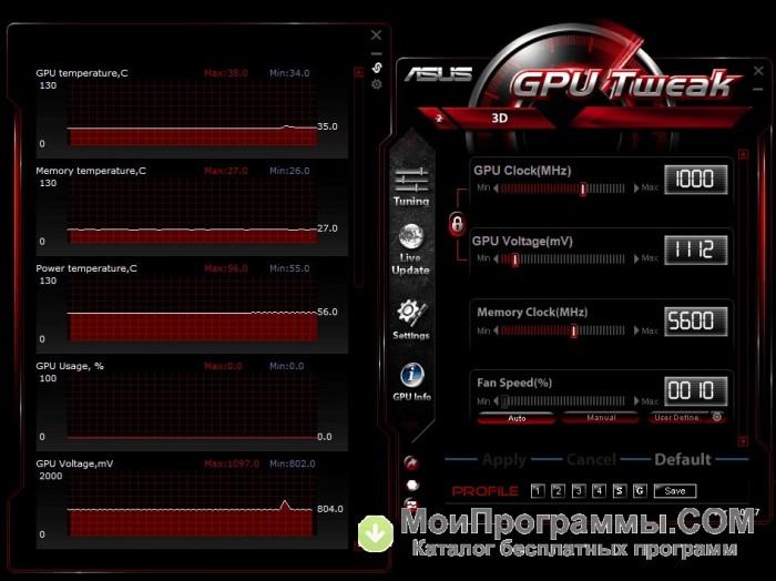 Asus Gpu Tweak инструкция на русском языке - фото 5