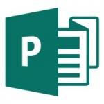 Программа для верстки различных рекламных материалов Microsoft Publisher
