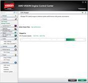 AMD VISION Engine Control Center скриншот 1