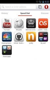 Mozilla Firefox для Android скриншот 1
