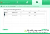 Tenorshare iPhone Data Recovery скриншот 2