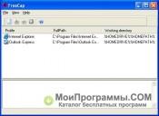 Скриншот FreeCap