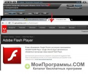 Скриншот Adobe flash player для google chrome