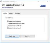 Win Updates Disabler скриншот 1