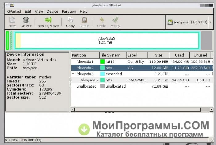 Gparted для windows 7 скачать русская версия