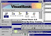 Скриншот Microsoft Visual Basic