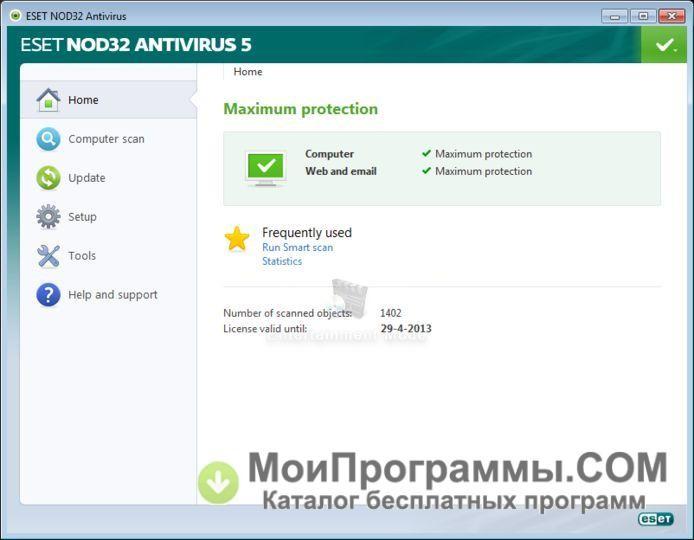 nod32 скачать бесплатно на русском
