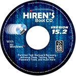 Hirens Boot CD для Windows 8