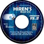 Hirens Boot CD для Windows 8