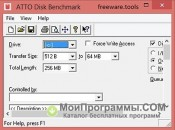 ATTO Disk Benchmark скриншот 3