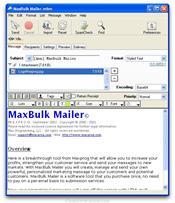 MaxBulk Mailer скриншот 1
