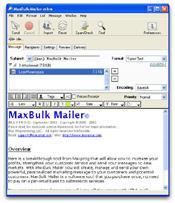 MaxBulk Mailer скриншот 4