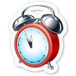 Программа для изменения стиля часов и установки будильника Atomic Alarm Clock