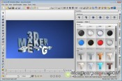 Aurora 3D Animation Maker скриншот 2