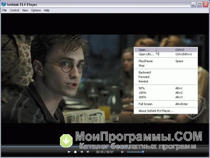 проигрыватель Flv для Windows 7 img-1