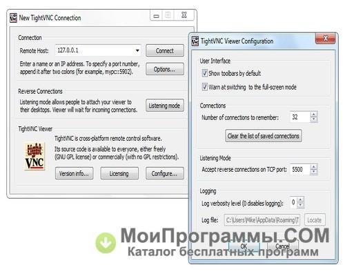 TightVNC скачать бесплатно русская версия для Windows без регистрации