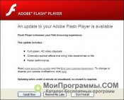 Скриншот Adobe Flash Player