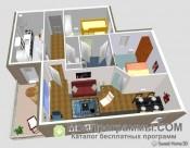 Sweet Home 3D скриншот 3