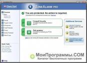 Скриншот ZoneAlarm