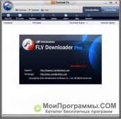 Wondershare FLV Downloader Pro скриншот 2