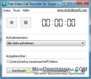 Free Video Call Recorder for Skype скриншот 2