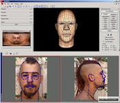 FaceGen Modeller скриншот 3