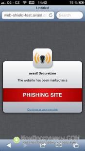 Avast для iPhone скриншот 2