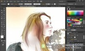 Скриншот Adobe Illustrator CC