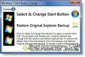 Windows 7 Start Button Changer скриншот 4