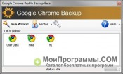 Google Chrome Backup скриншот 3