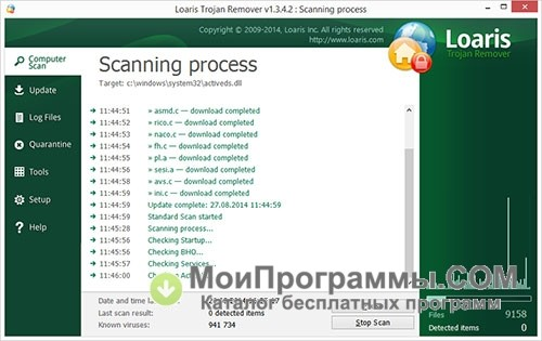 Loaris trojan remover скачать бесплатно русская версия