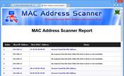MAC Address Scanner скриншот 1