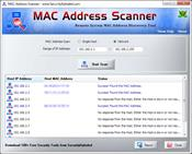 MAC Address Scanner скриншот 3