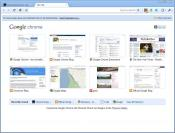 Скриншот Google Chrome 25