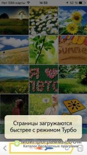 Yandex браузер для iOS скриншот 4