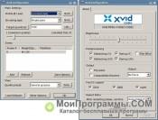 Скриншот Xvid