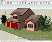 Google SketchUp скриншот 2