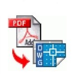 Программа для трансформации материалов версии PDF в DWG Pdf to dwg converter