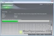 Скриншот Unformat