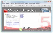 Word Reader скриншот 1