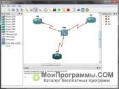GNS3 скриншот 4